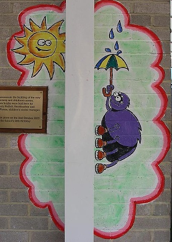 Incy Wincy Mural