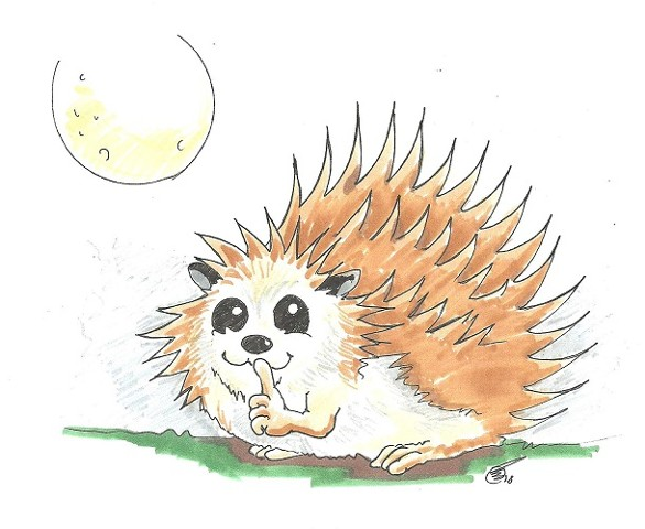 Pretending Hedgehog