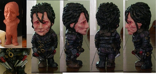 Scratch built Scissorhands