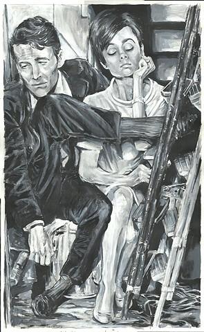 O'Toole and Hepburn