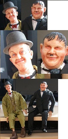 "12"" Laurel and Hardy"