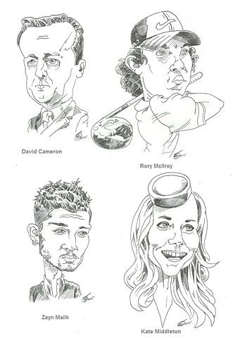 Topical caricatures