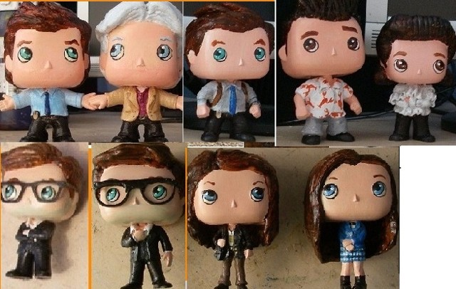 Funko Pop customs - NCIS; Seinfeld + more