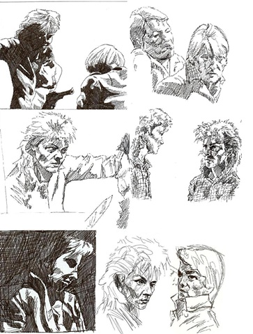 Cell Block H roughs