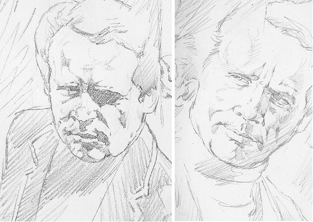 McGoohan sketches