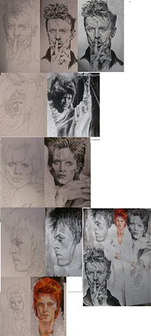 Bowie Tribute - progress