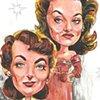 Joan Crawford + Bette Davis
