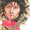 Marc Bolan caricature