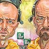 Breaking Bad full cast caricature