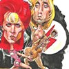 Bowie career caricatures 2