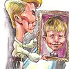 Bowie career caricatures 1