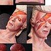 Large Bowie bust