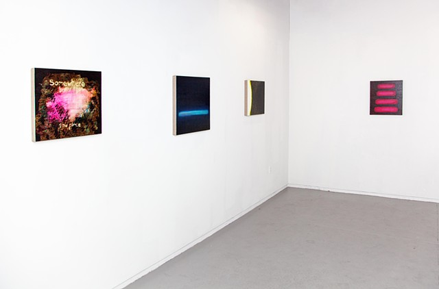 D8: Somewhere/Nowhere Better Than This Place, Installation View 1