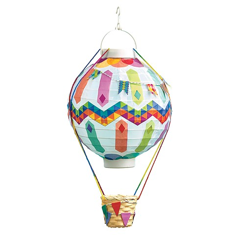 Hot Air Balloon Lantern Sample