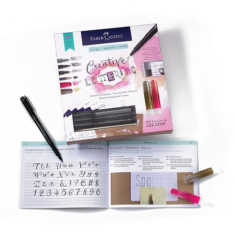 Creative Lettering with PITT® artist pens & Gelatos® contents