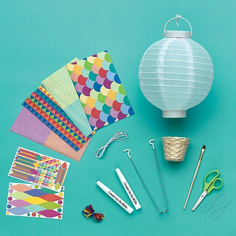 Hot Air Balloon Lantern Contents