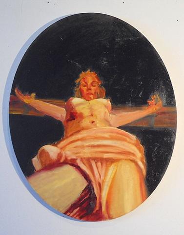 Female Menstruating Christ