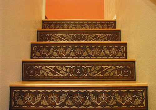 Stairways, Stenciled