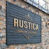 Rustica Bar Lounge Sign