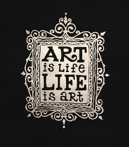 Artcentric Apparel-Art is Life