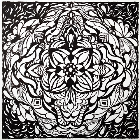 mandala: winter solstice 2012