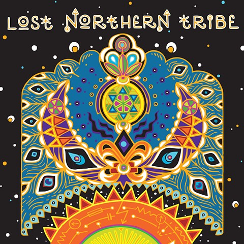 Lost Northern Tribe Stage Backdrop