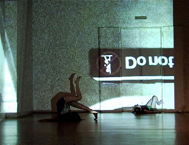 Title: Do not lean on door (2009)