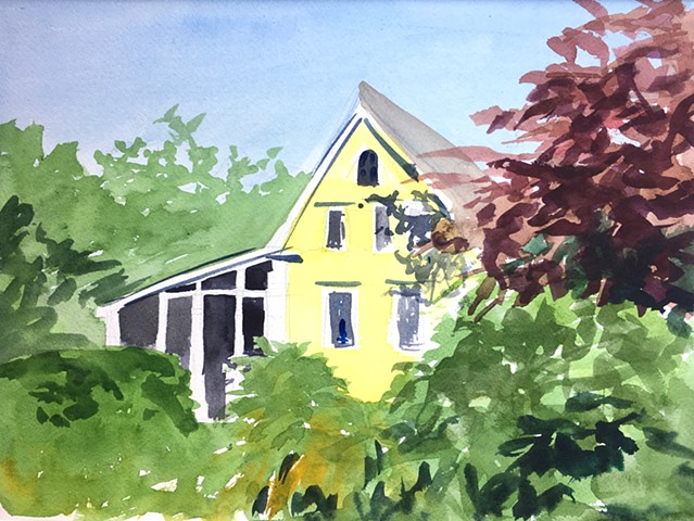 Yellow House, Boothbay ME