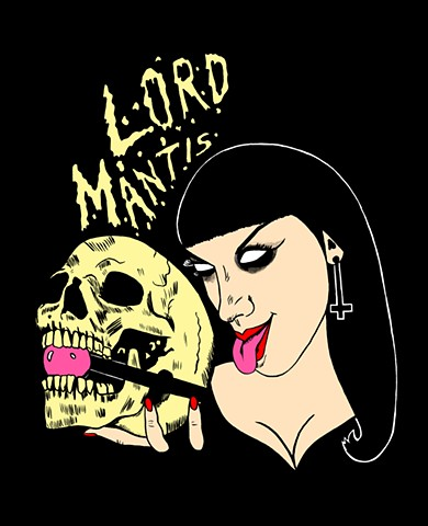 Lord Mantis T-shirt Design