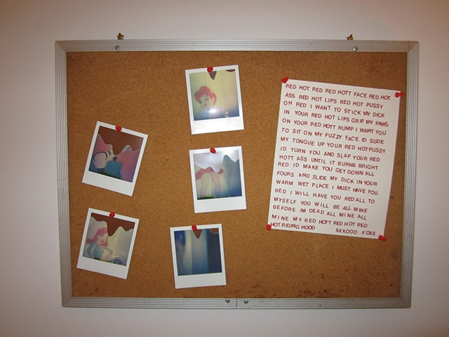 Luv Letter and polaroids