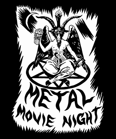 Music Box Chicago Metal Movie Night Logo re-draw