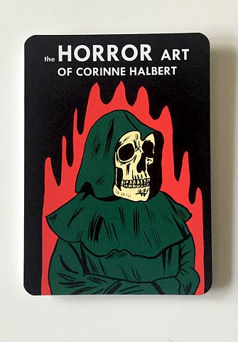 The Horror Art of Corinne Halbert