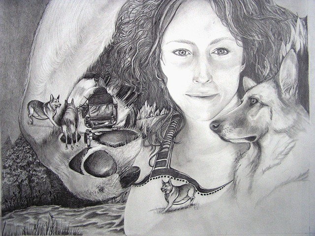 Survivor Portrait for Melanie Lamb