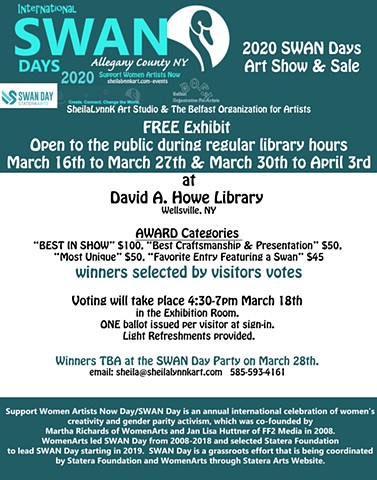 Women Arts, SWAN Days Art Show, Western NY Wilds