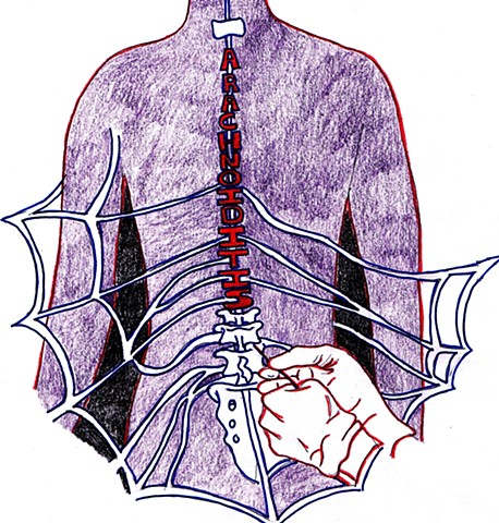 arachnoiditis, artforarachnoiditis, arachnoiditisSurvivor, spinal cord injury, healing art