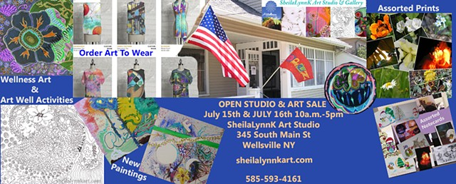 Open Studio & Art Sale