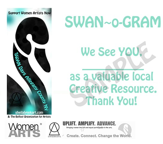 SWANDaysAlleganyCountyNY, Support Women Artists Now, WomenArts