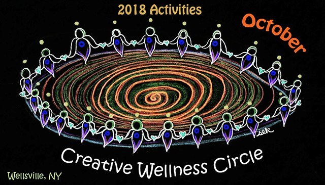 October Creative Wellness Circle