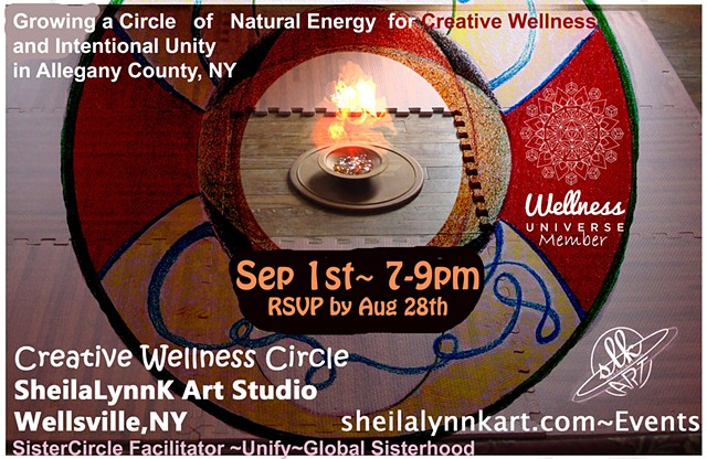 FREE Creative Wellness Circle September 2016