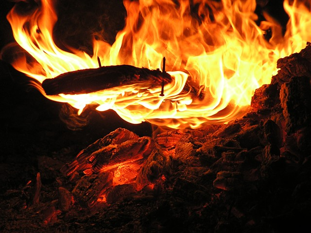 fine art photography fire,