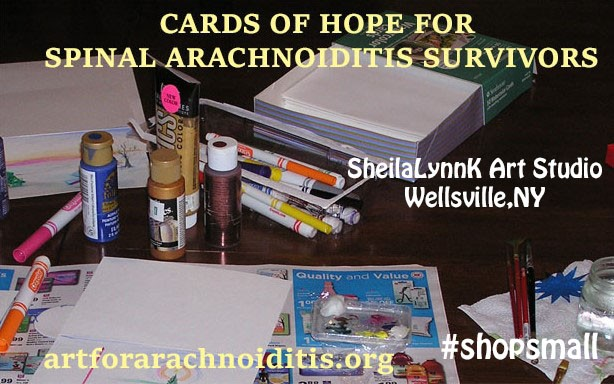 #ShopSmall, Hope, Arachnoiditis Survivors, NERVEmber, #GivingTuesday