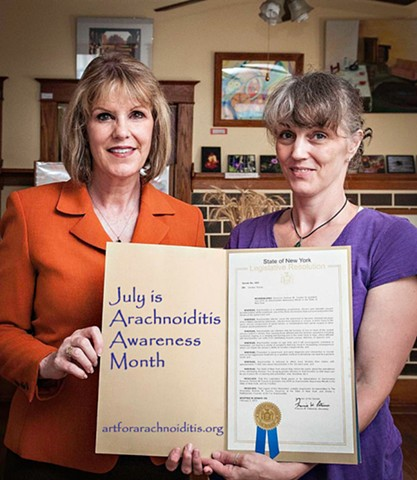 Arachnoiditis Awareness, Senator Catherine Young, Governor Andrew M. Cuomo