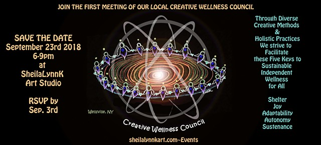 Creative Wellness, Sacred Council, Masculine Feminine Energy, Balance, Unified