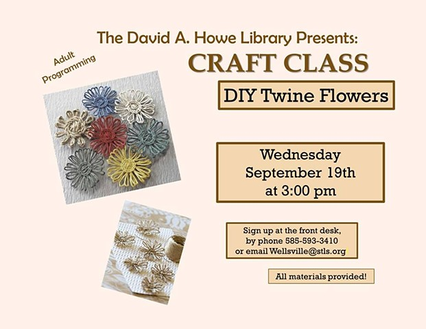 Twine Flowers Project