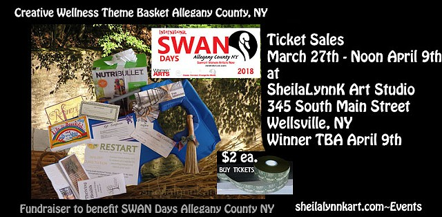 Allegany County NY, Shop Small, SWAN Day, WomenArts,
