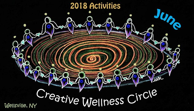 Wellness Circle, Sister Circle, Sacred Sisters, UNIFY, WellsvilleNY, Allegany County NY
