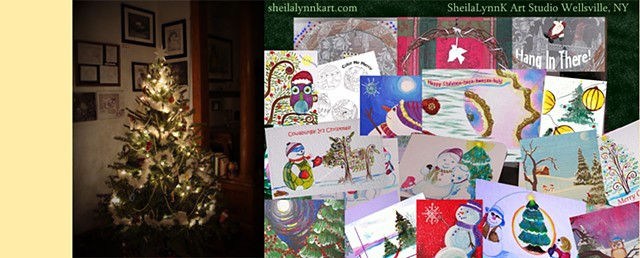 wholesale christmas cards, wholesale art