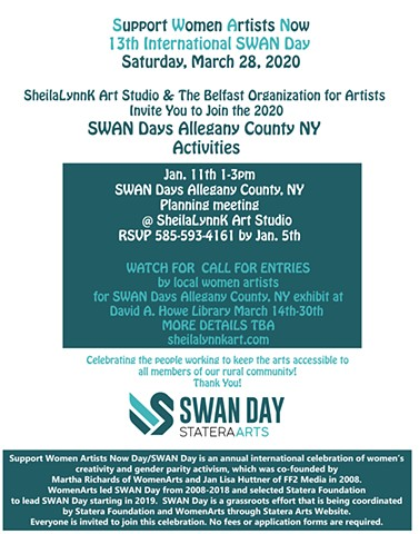 SWAN Days, Women Arts, Statera Arts