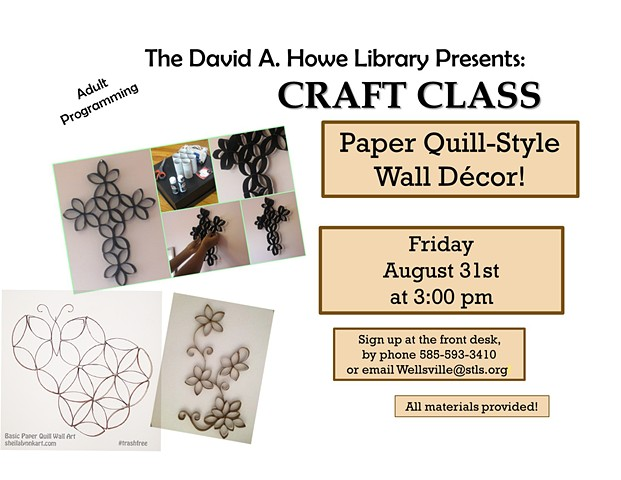 CRAFT CLASS for Adults