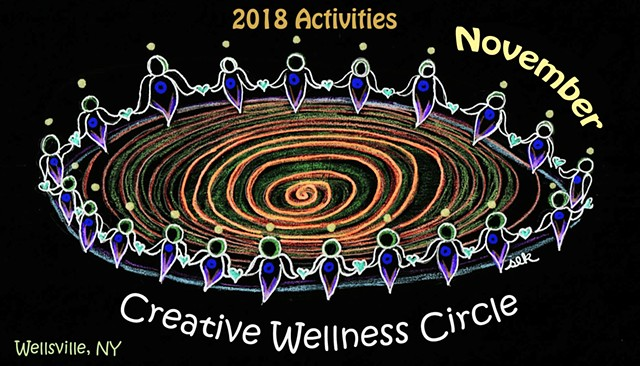 Sacred Circle, Sister Circle, Creative Wellness, UNIFY, Wellsville NY